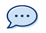 Text bubble icon